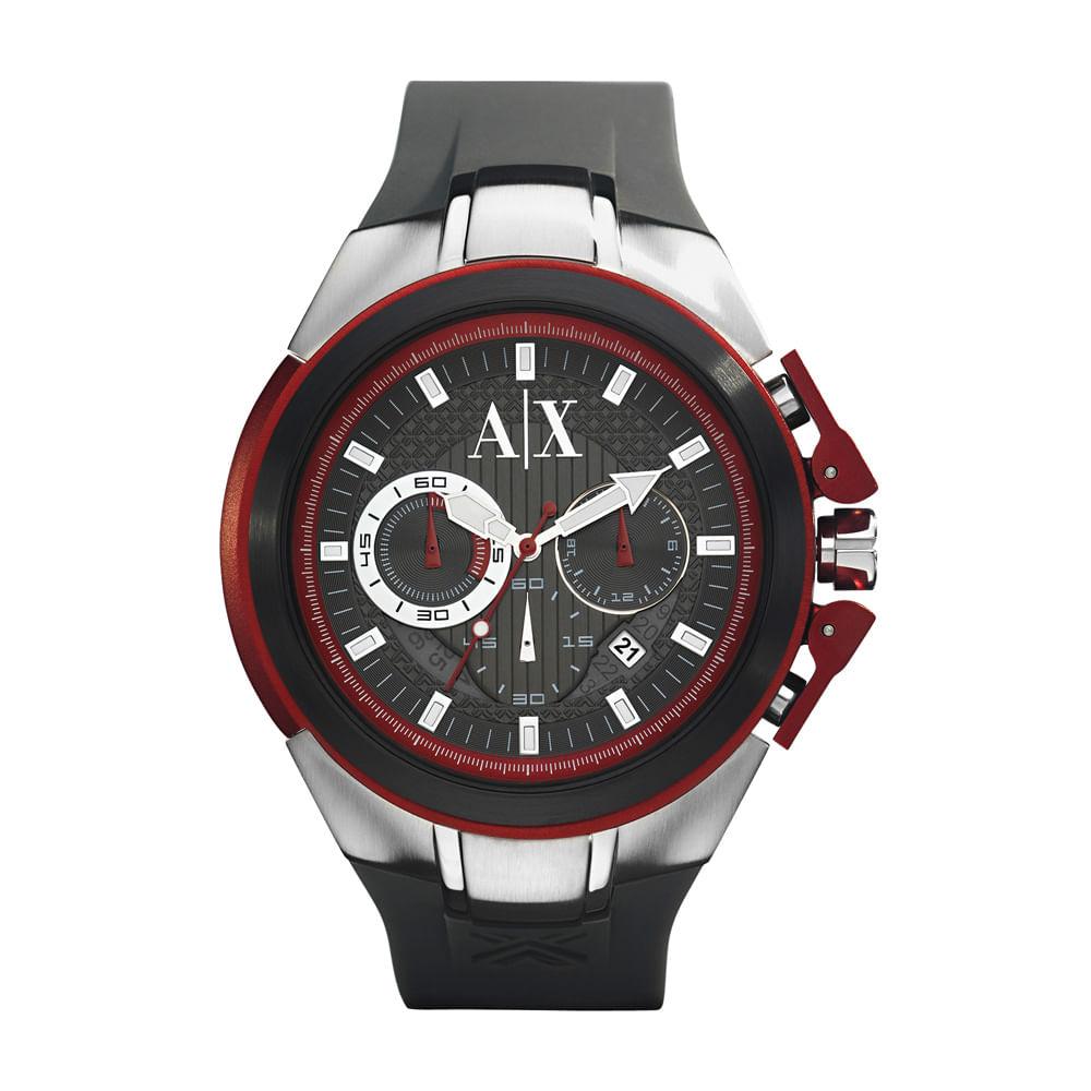 369b1f5d870 Relógio Armani Exchange Masculino Cinza - UAX1183 Z - Tempo de Black ...