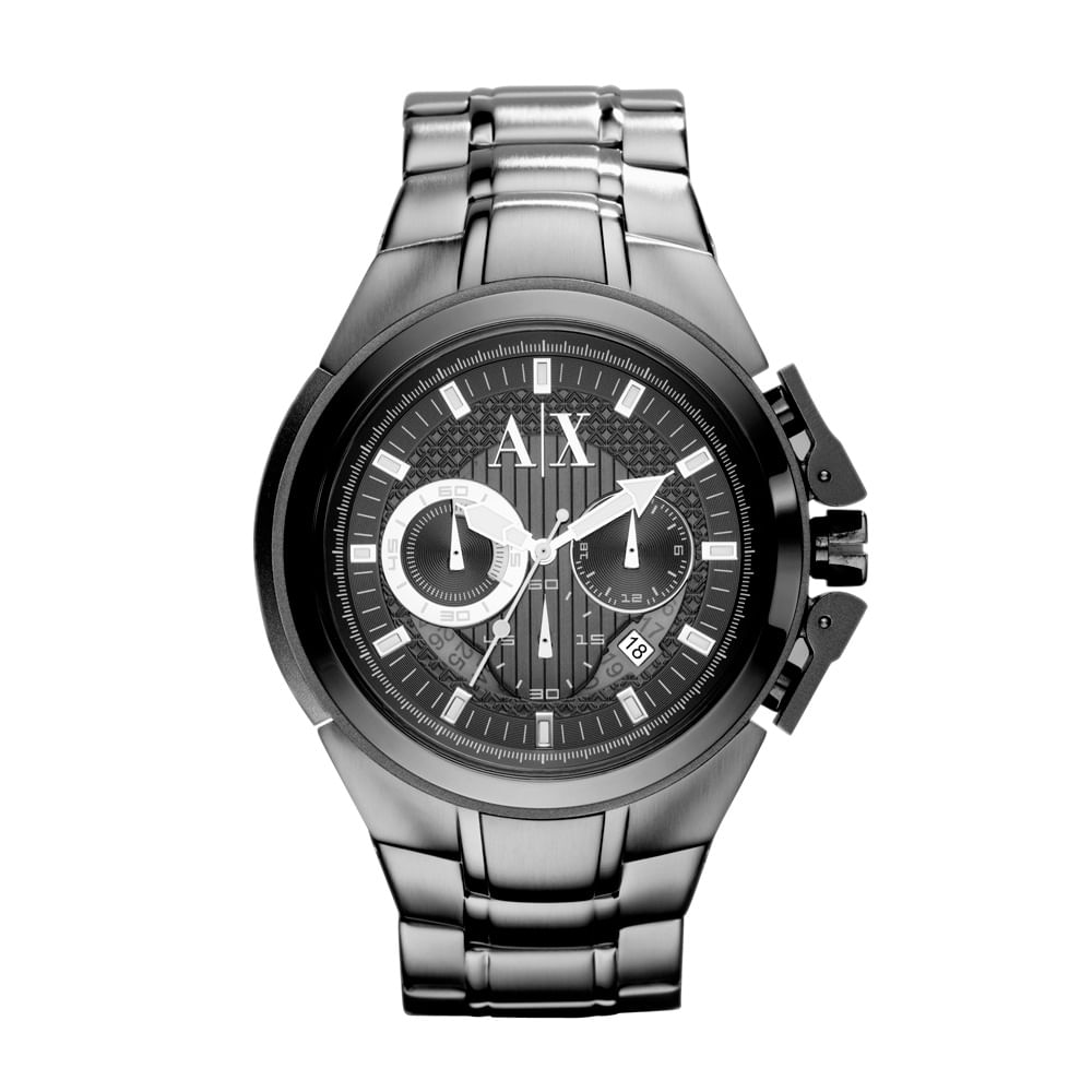 8f4ba085c45 Relógio Armani Exchange Masculino Cinza - UAX1181 Z - timecenter