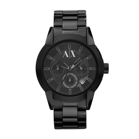 Relógio Armani Exchange Masculino Preto - UAX1178/N