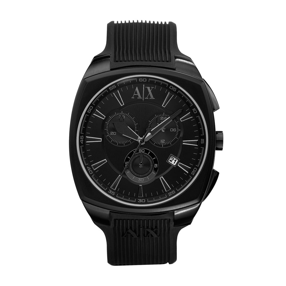 40065378629 Relógio Armani Exchange Masculino Preto - UAX1174 N - timecenter