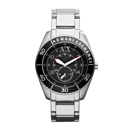 Relógio Armani Exchange Masculino Prata - UAX1263/Z