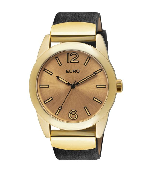 fa84f1b031 Relógio Euro Feminino Hanôver EU2035UV 2P - Preto