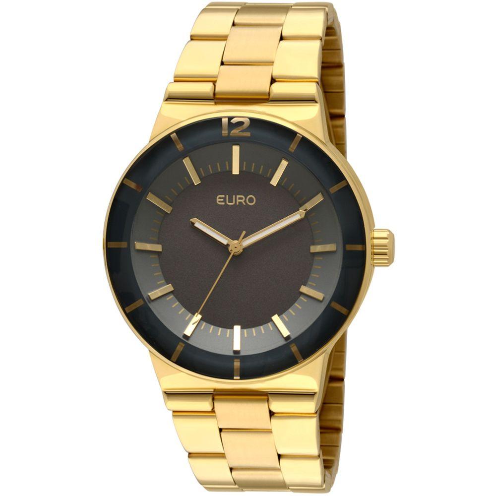 71894ddcfd3 Relógio Euro Feminino Analógico Elva EU2036AIZ 4C - Dourada - timecenter