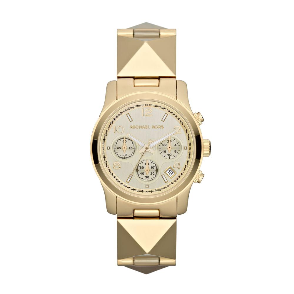 d7e5ff6af4862 Relógio Michael Kors Feminino Dourado - MK5797 4DN - timecenter