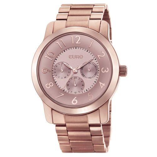 Relógio Euro Feminino Brande EU6P29AB 4T - Rose Gold fa20b1fb76