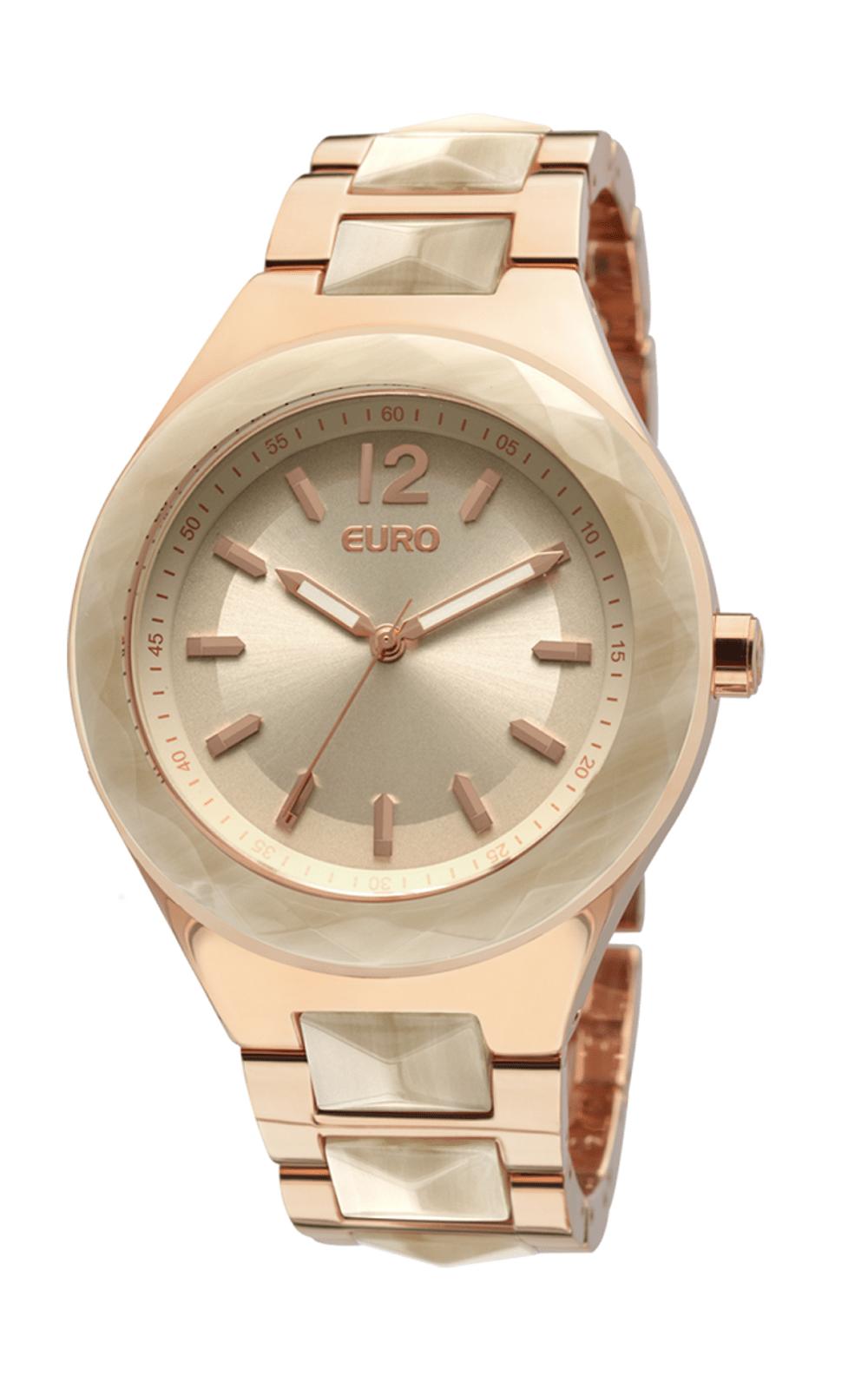 Relógio Euro Feminino Vannes EU2035LRD 4T - Rose Gold. undefined 0ef6f27aa1