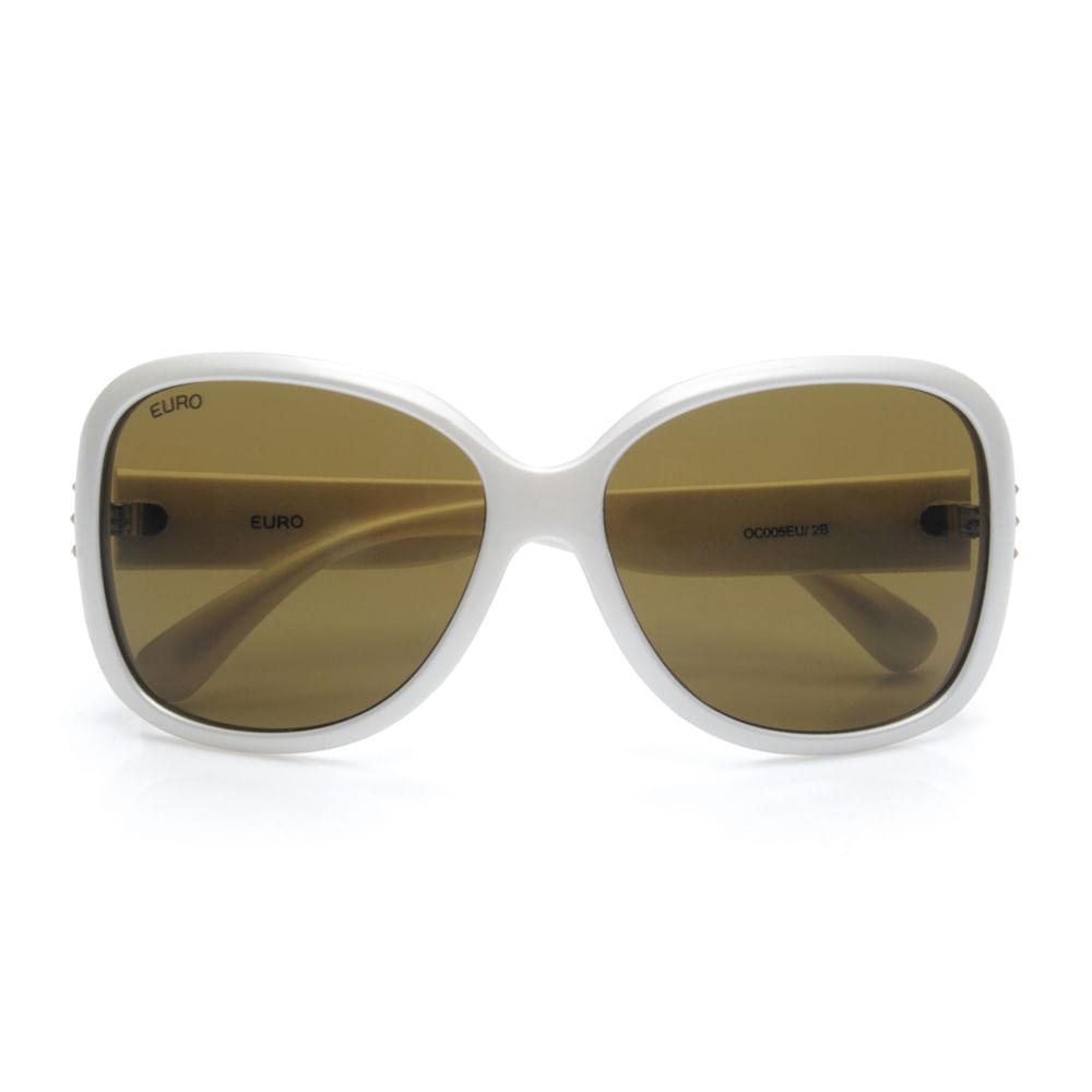 Óculos sol Euro Feminino Paris Marrom - OC005EU 2B - timecenter d0db233205