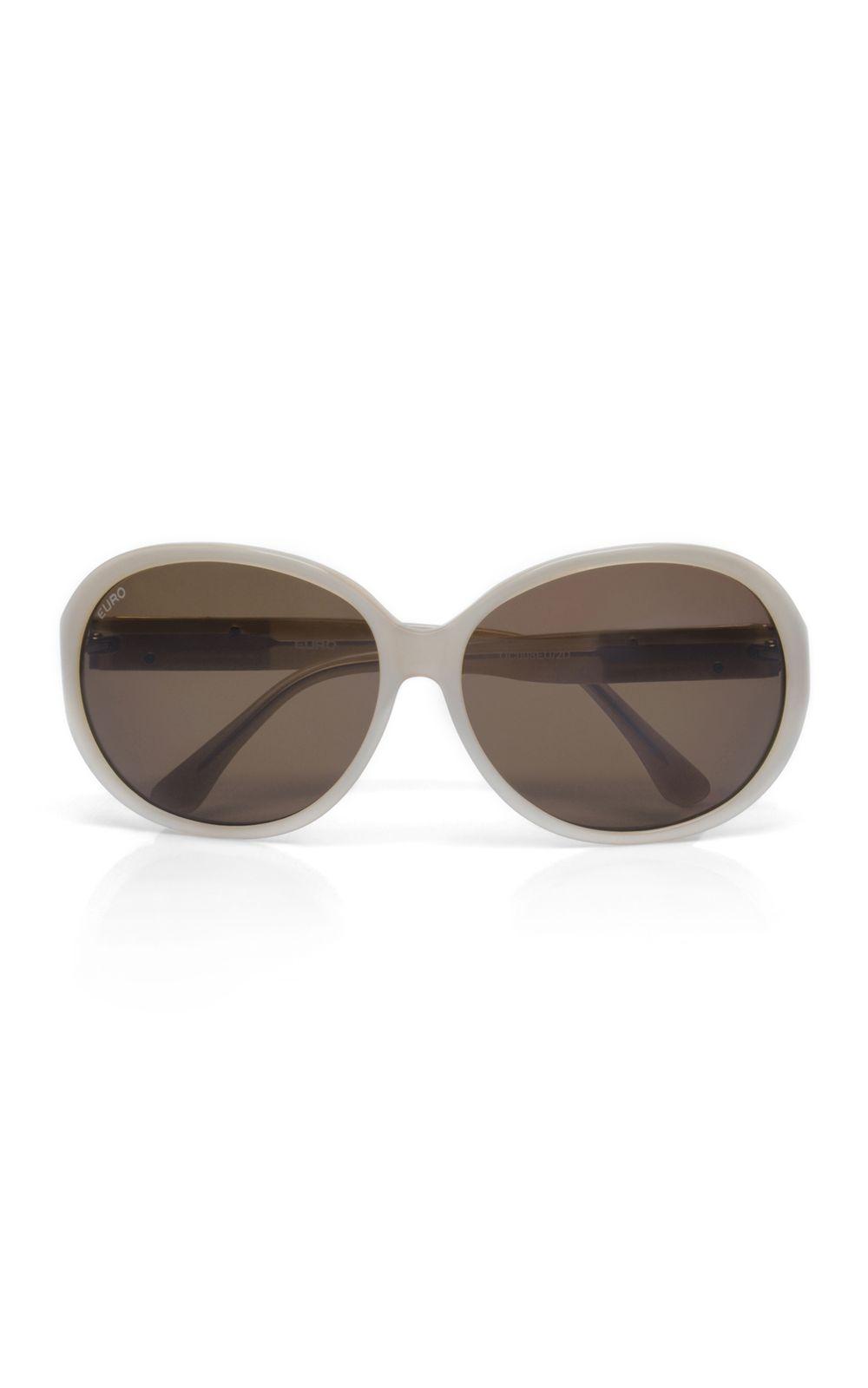 9bf37439e Óculos sol Euro Feminino Genova Branco Perolado OC008EU/2D. undefined