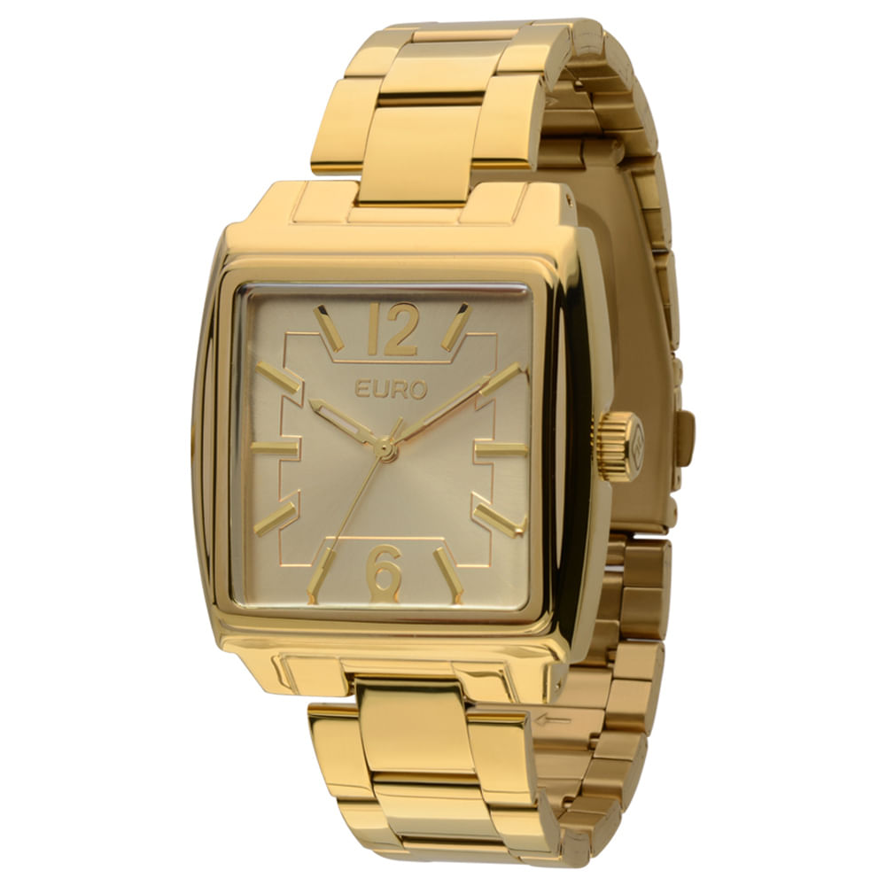 Relógio Euro Feminino Analógico Voronezh EU2035LXI 4D - Dourado - timecenter 2501f46ffe