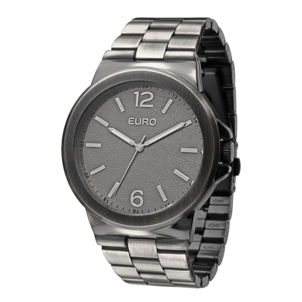 f00aed77ca2 Relógio Euro Feminino Analógico Saragoça EU2036AJE 3C - Prata ...