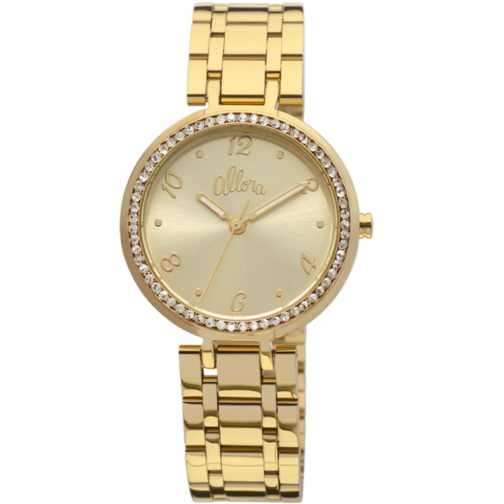 b626b08982d Relógio Allora Feminino Joana - AL2035JH 4D - timecenter