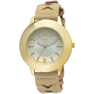 6f4f21882b9 EU2035XY2B Ver mais · EU2035XY 2B Relógio Euro Feminino Jesi Dourado ...