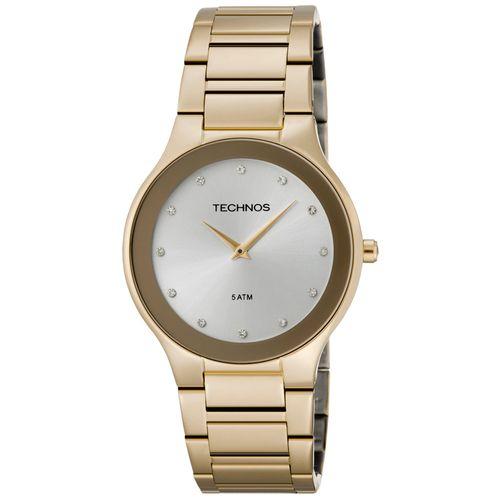 a2f0970452491 Relógio Technos Feminino Dourado - 1L22EN 4K - timecenter