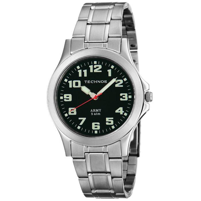 0fa3b790ea6 Relógio Technos Masculino Prata - 2035JE 1P - technos