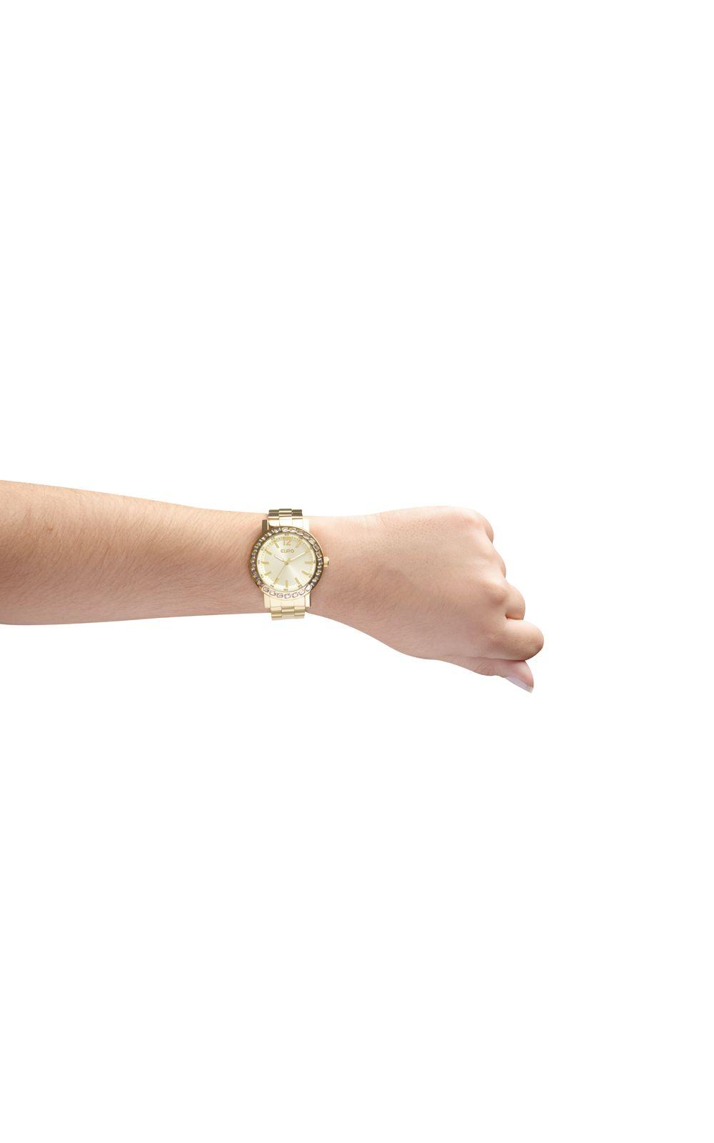 315a21e35d5 Foto 2 - Relógio Euro Feminino Brilho Assimétrico EU2035XYY 4X-Dourado
