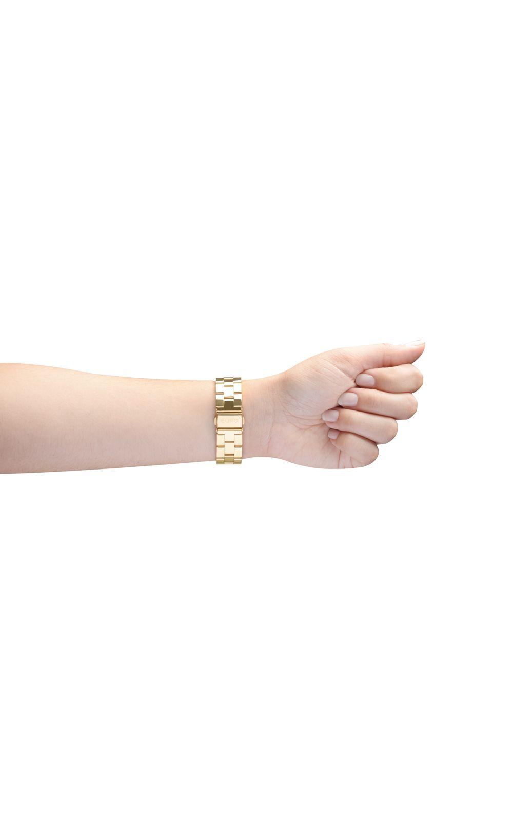 7ac19e03ade Foto 3 - Relógio Euro Feminino Brilho Assimétrico EU2035XYY 4X-Dourado