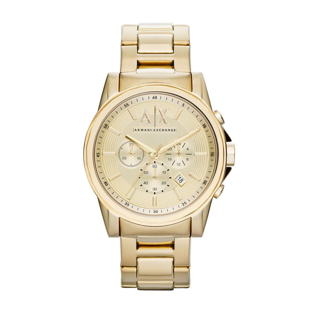 7ed43d5934d Relógio Armani Exchange Masculino - AX2099 4DN - Tempo de Black Friday