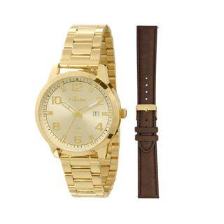 7405cb565de Troca pulseria Relógio Condor Masculino Analógico Dourado - CO2115TA 4D