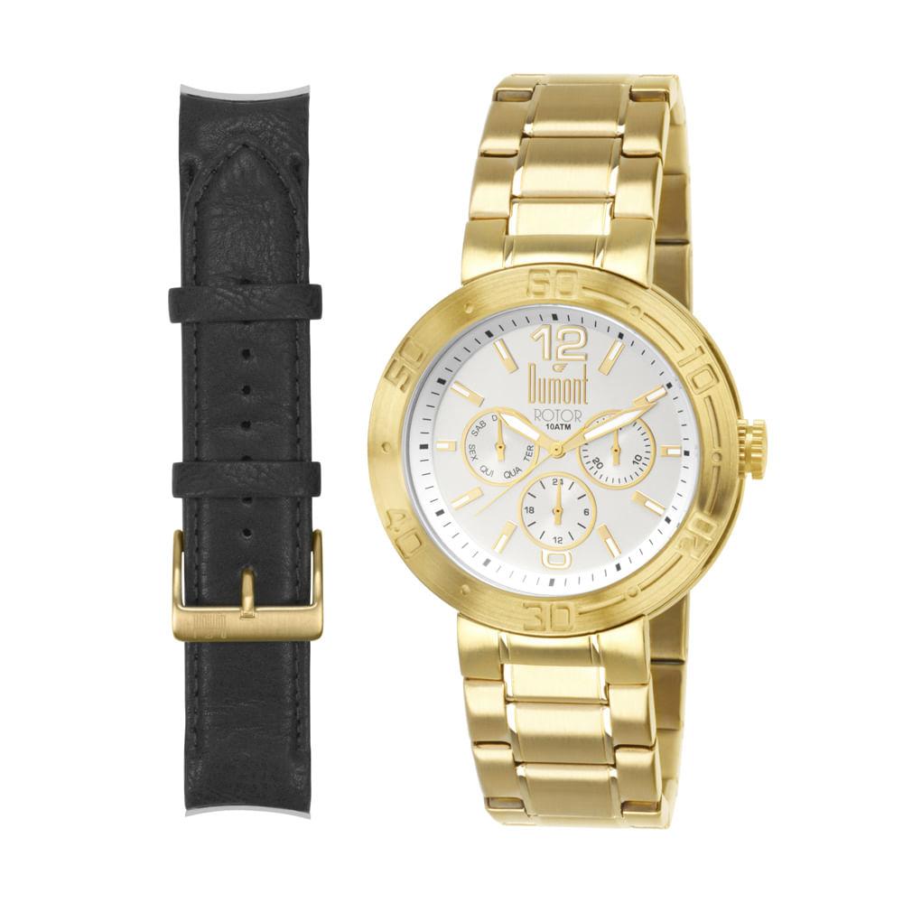 68ffd85511f Relógio Dumont Masculino Analógico - timecenter