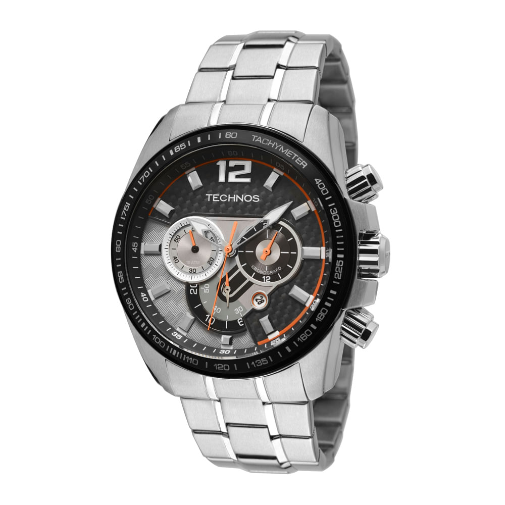 Relógio Technos Masculino Analógico Prata OS20IJ 1C - timecenter d5e8a0e03e
