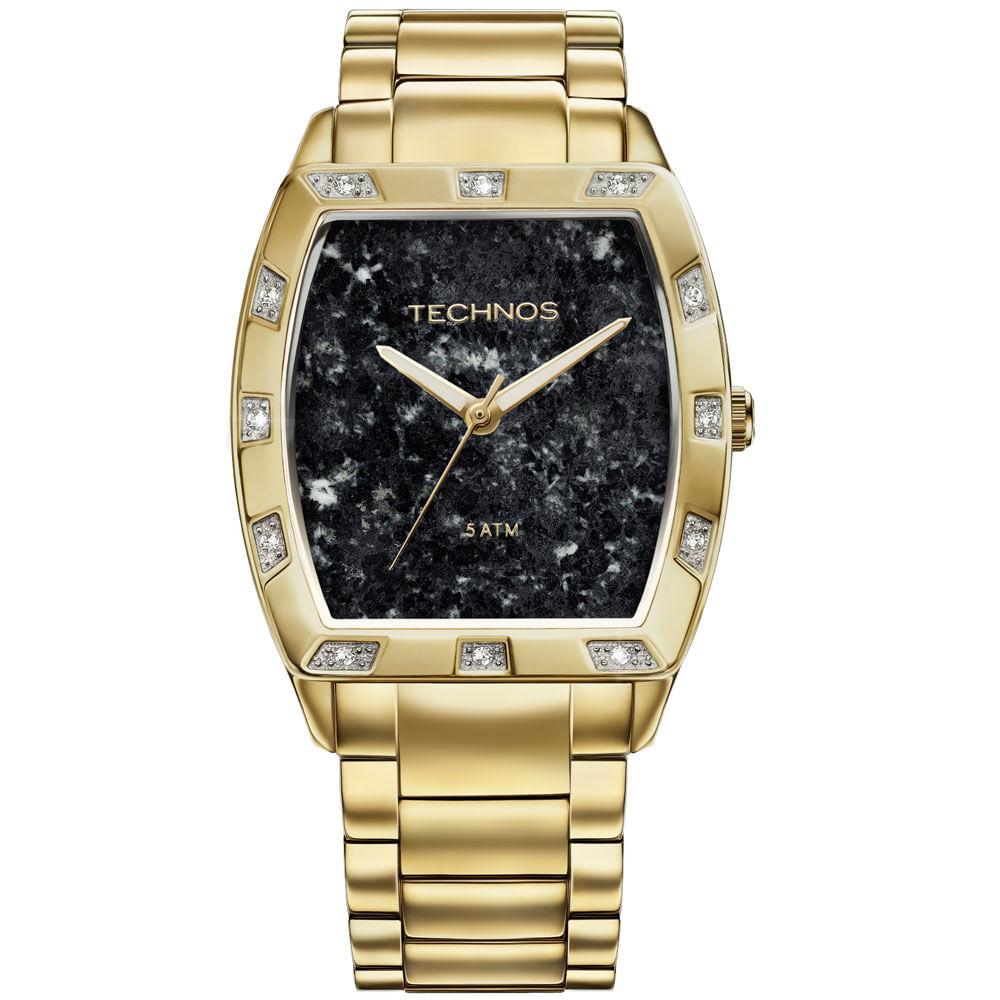 Relógio Technos Feminino Coleção Stone - 2033AC 4P - timecenter a117fd3628