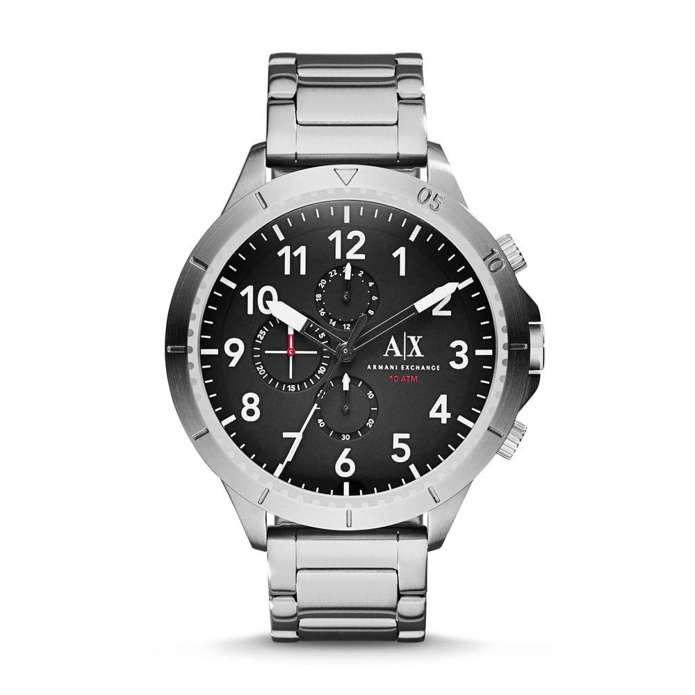 1a0ae58a758 Relógio Armani Exchange Masculino Preto Romulous - AX1750 1PN ...