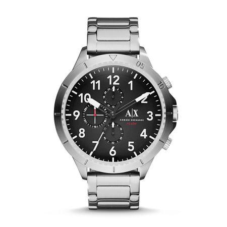 Relógio Armani Exchange Masculino Preto Romulous - AX1750/1PN