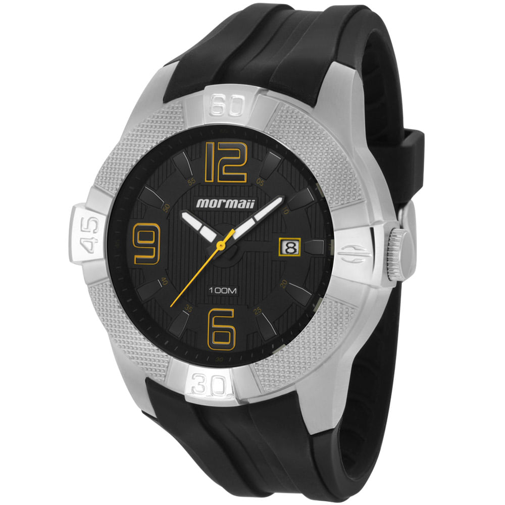 Relógio Mormaii Masculino Analógico Preto MO2315AF 8P - timecenter 32772dd861