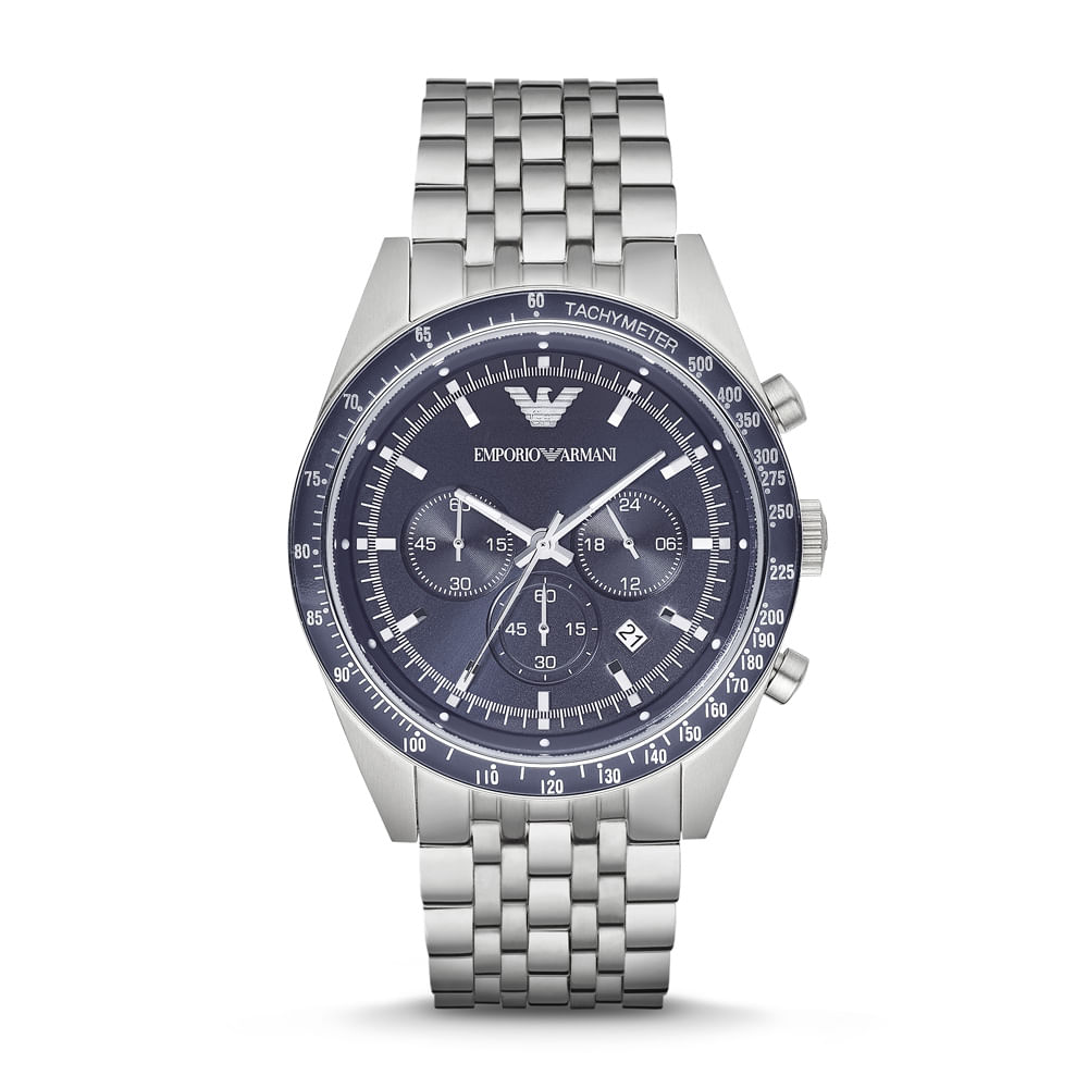 b43671e3d38 Relógio Emporio Armani Masculino - AR6072 1AN - Tempo de Black Friday