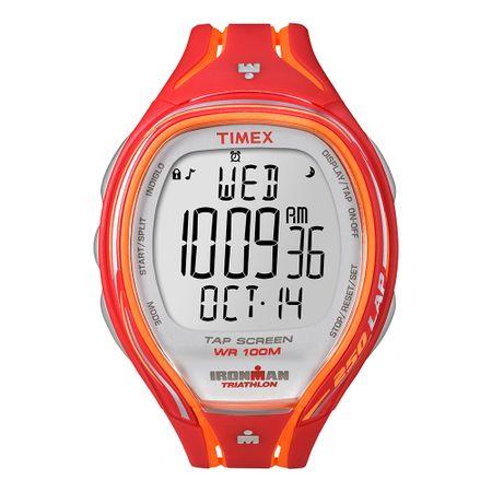 Relógio Timex Ironman Sleek 250-Lap Tapscreen T5K788BD/TI Vermelho