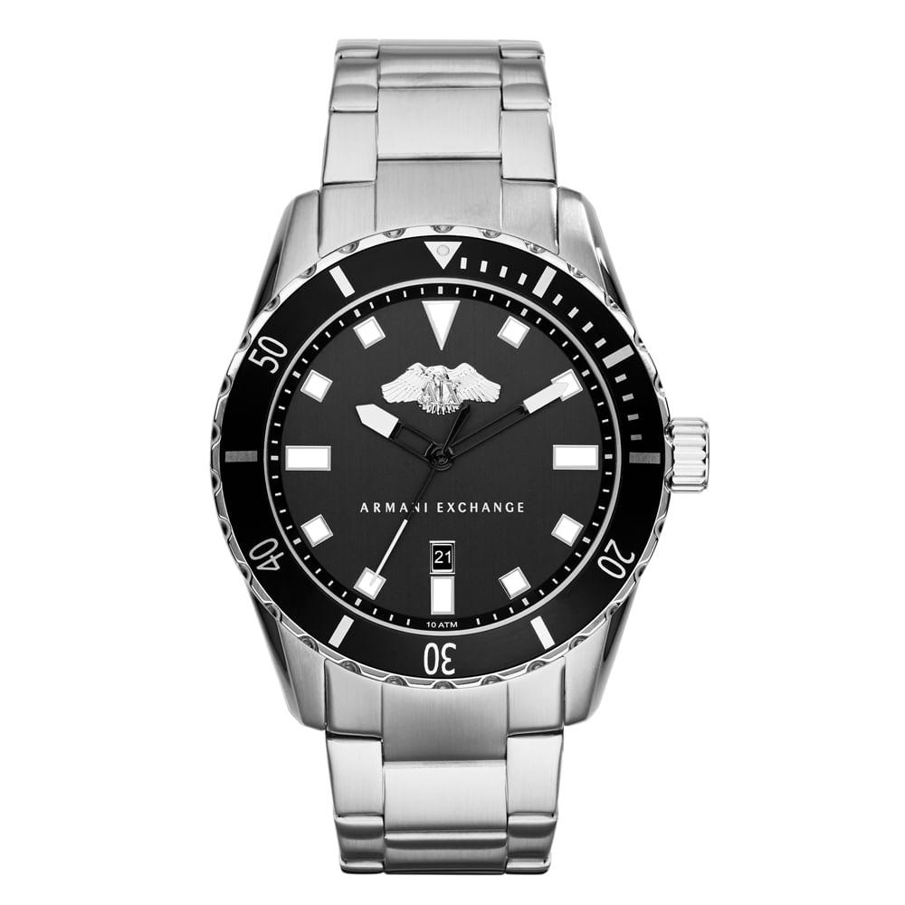 1ef1e809c92 Relógio Armani Exchange Masculino - AX1709 0PN - Tempo de Black Friday