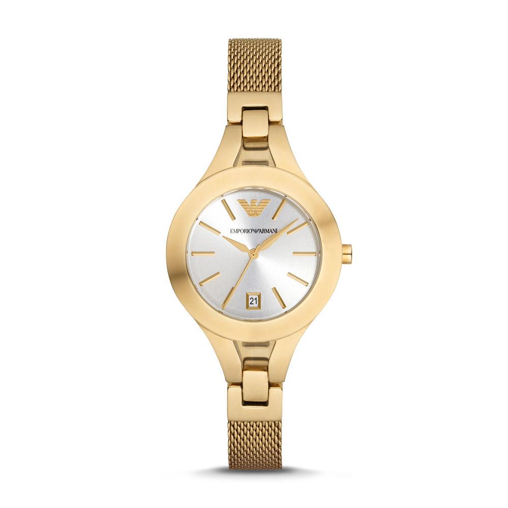 Relógio Emporio Armani Feminino - AR7399 4KN - timecenter 6eb75c6caa