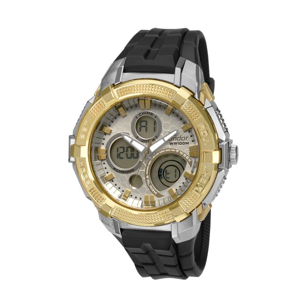 8b05cc0e9a9 Relógio Condor Masculino Esportivo Anadigi - CO1101AG 8K - timecenter
