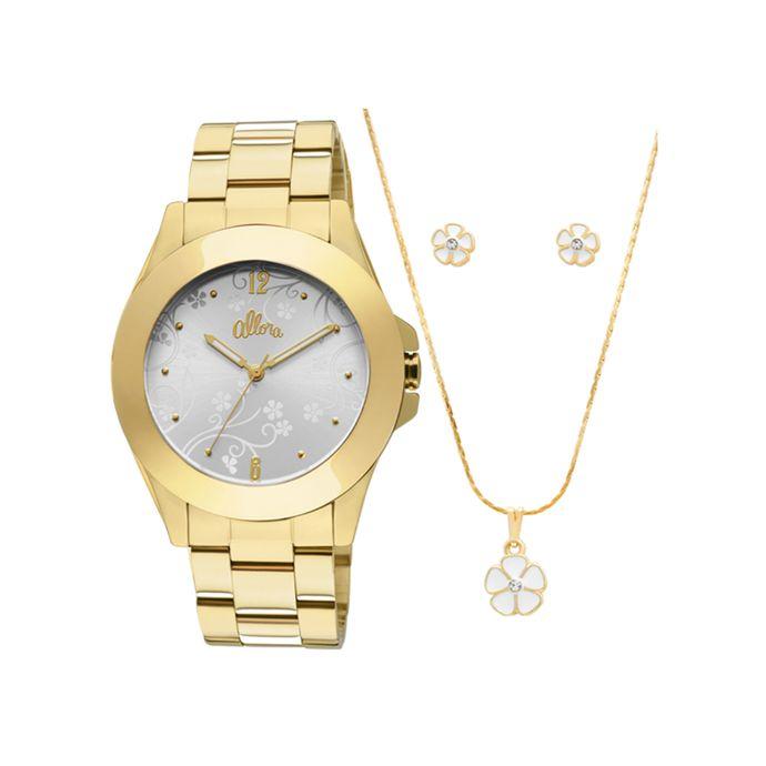 60d80526df5 Relógio Allora Feminino Dourado - AL2035EYL 4G - Tempo de Black Friday