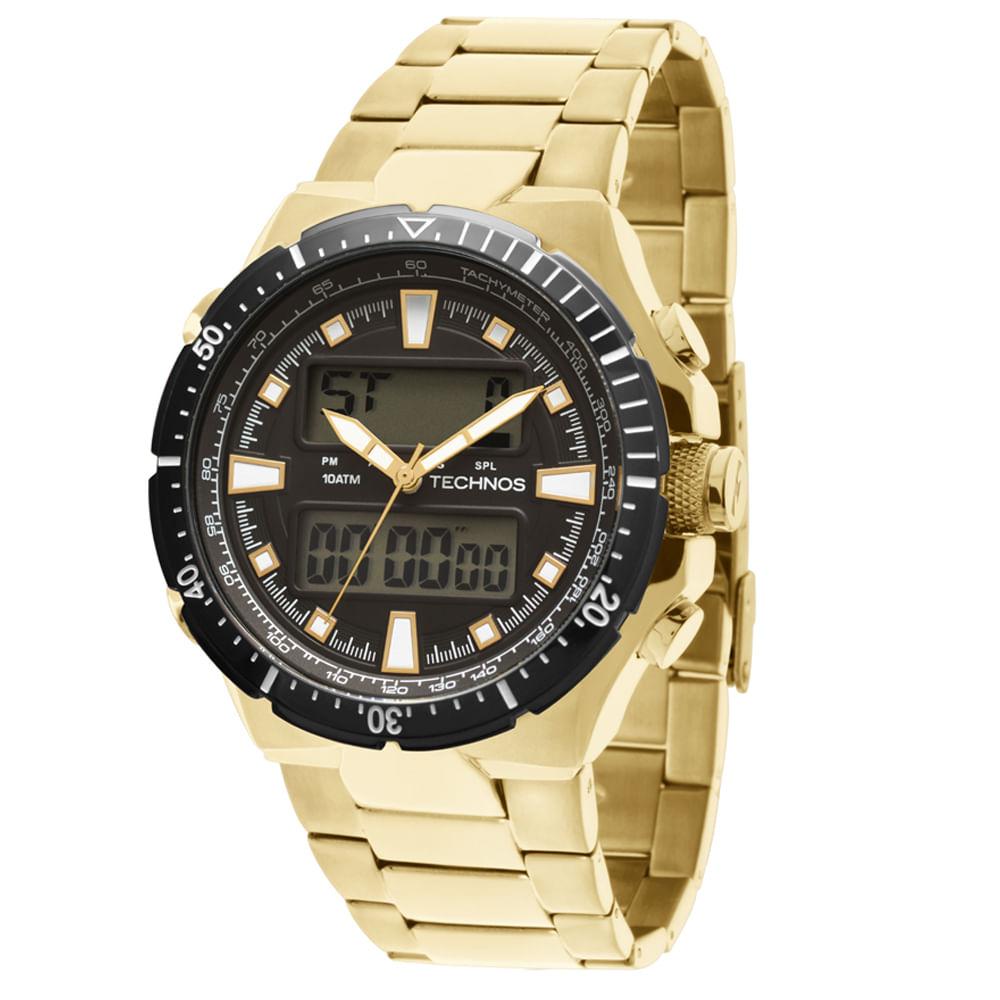 2779ebc9592 Relógio technos digiana masculino ana digi ab technos jpg 1000x1000 Relogios  technos masculino dourado