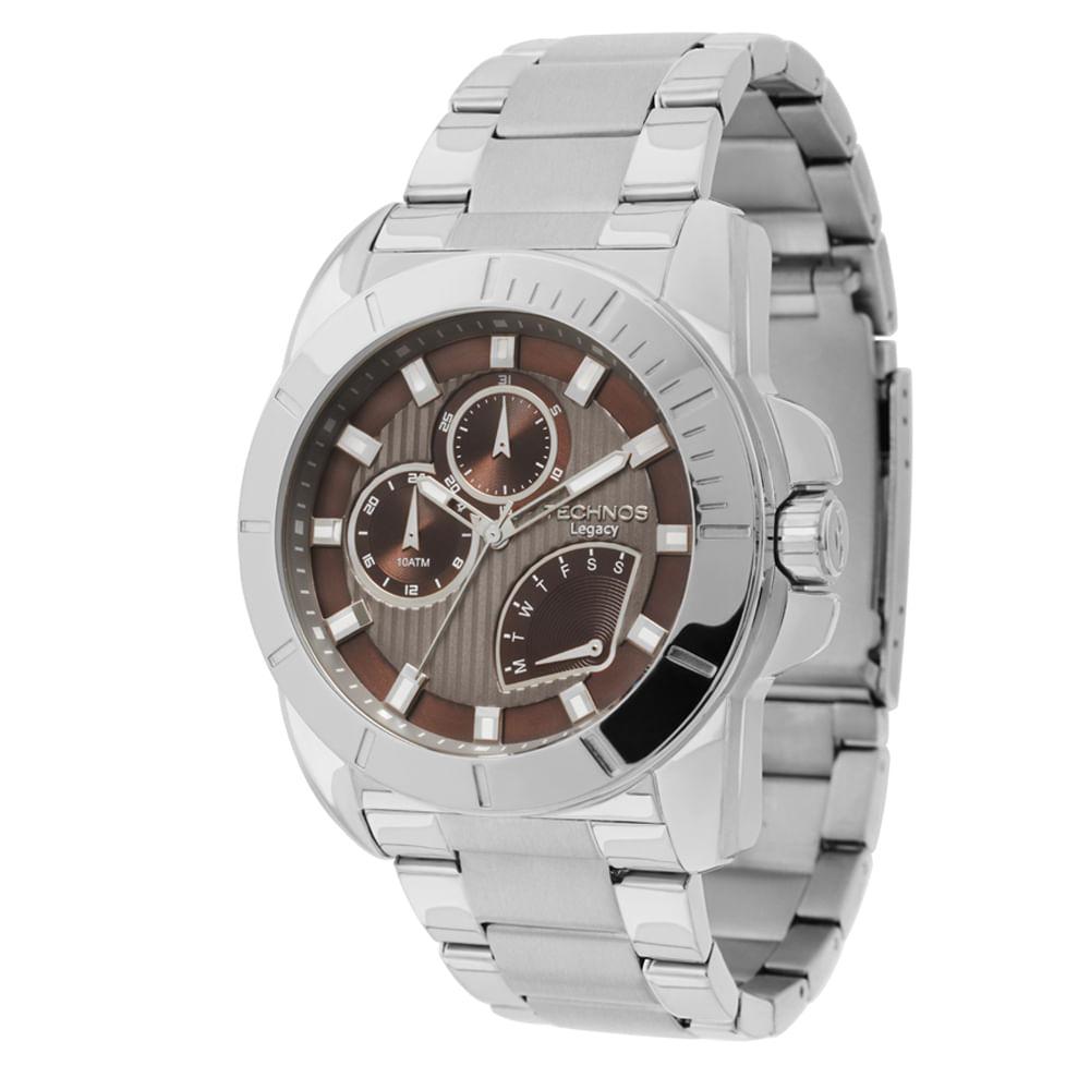 Relógio Technos Masculino - JR00AO 1M - timecenter b42342168b