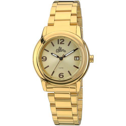 0768cee2ca3 Que tal estes  Encontramos alguns produtos e serviços relacionados! Confira  e troque seus Km. Time Center · Relógio Allora Simples Encontro Dourado ...