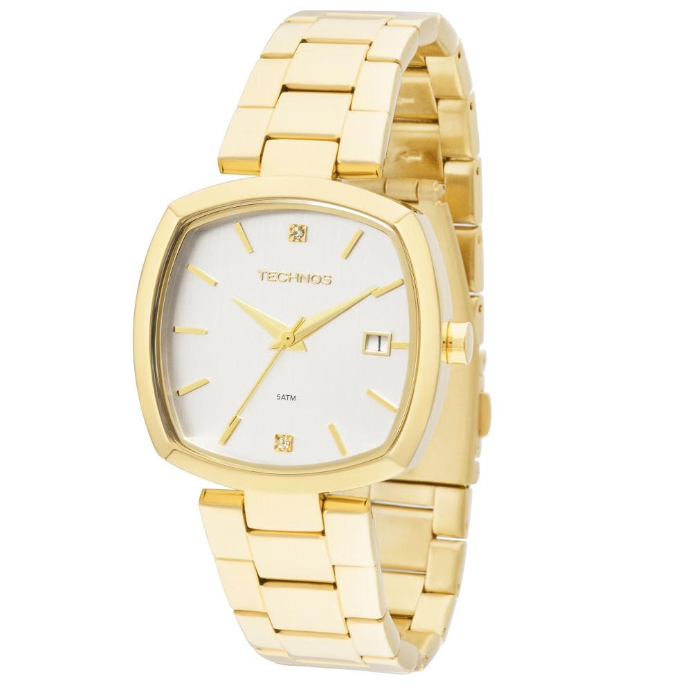 Relógio Technos Elegance - 2115KPH 4K - timecenter beb49266c4