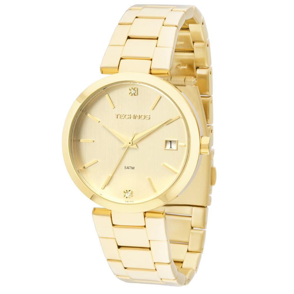 Relógio Technos Elegance - 2315ABR 4D - timecenter af6e1ef826