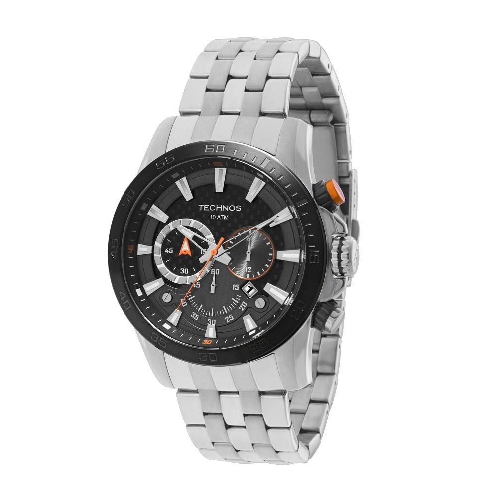 d4824f6d362 Relógio Technos Ts Carbon Masculino Cronógrafo - OS2ABA 1P - timecenter