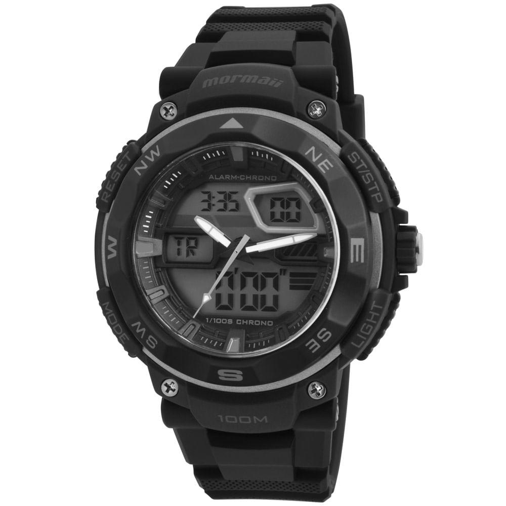 3041918cac0e4 Relógio Mormaii Masculino MO13611 8K - timecenter