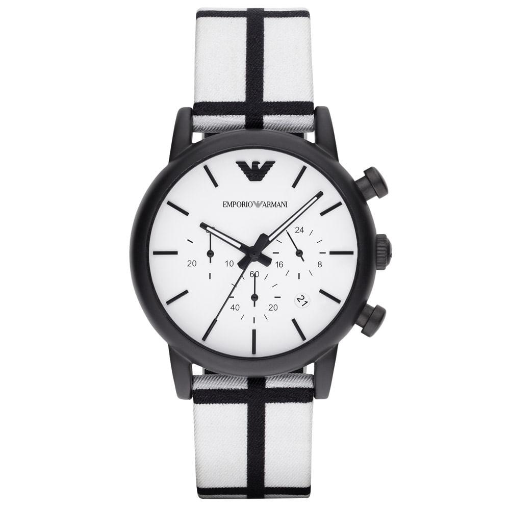 Relógio Emporio Armani Masculino - AR1859 8BN - timecenter dcfb4d48dd