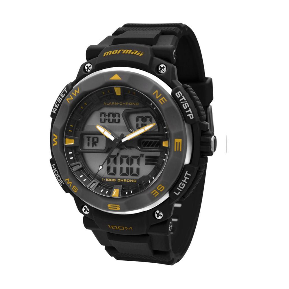 Relógio Mormaii Masculino - MO13611 8Y - timecenter 580707eb33