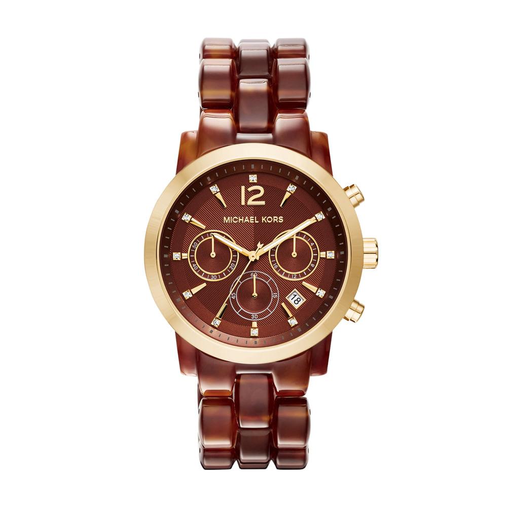 e1a5600486227 Relógio Michael Kors Feminino - MK6235 8MN - timecenter