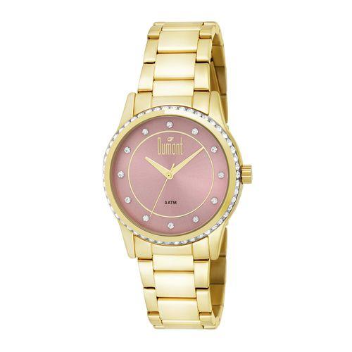 e1b16882a49 Relógio Dumont Feminino Splendore DU2035LQC 4T Dourado - timecenter