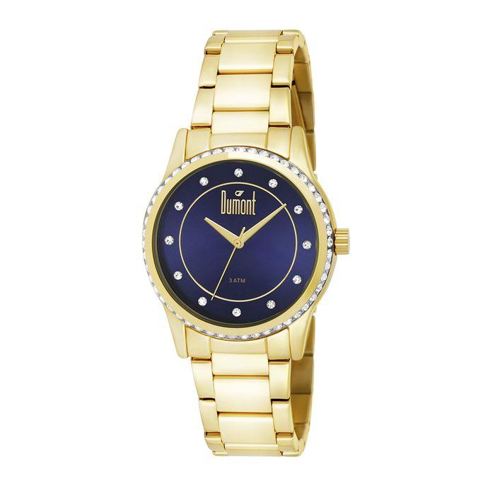 31565247ec6 Relógio Dumont Feminino Splendore DU2035LQC 4A Dourado