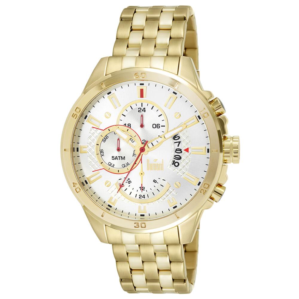 Relógio Dumont Masculino Garbo DUJP15AA 4K Dourado - Tempo de Black ... b2ba30cd75