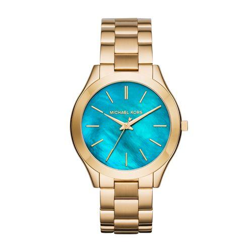 2de622be5 Relógio Feminino Michael Kors Lagoon Dourado - MK3492/4VN - Tempo de Black  Friday
