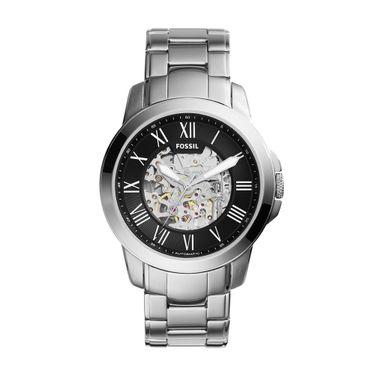 22af199fb33 Relógio Masculino Fossil Grant Prata - ME3103 1PN