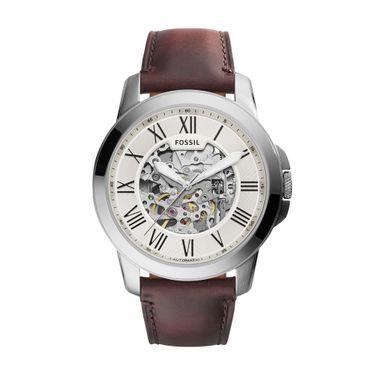 04e2b0555a5 Relógio Masculino Fossil Grant Prata - ME3099 0BN